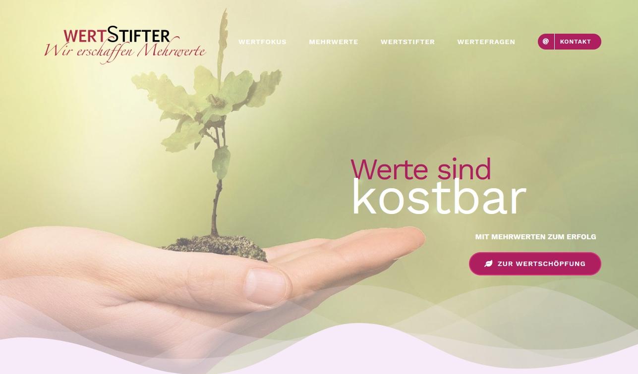 Website wertstifter.de